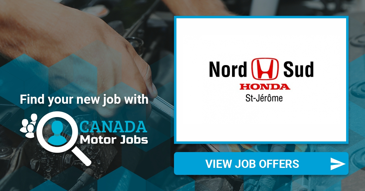 Nord Sud Honda >> Find A Job At Nord Sud Honda On Canadamotorjobs